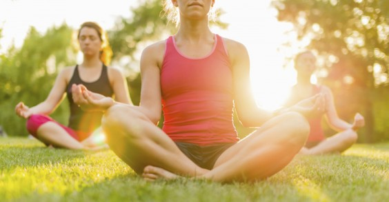 40 Ways to Reduce Stress: Meditation