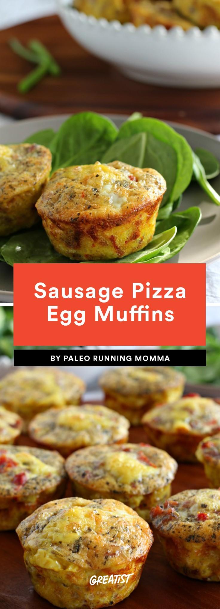 Sausage Pizza Egg Muffins Recipe
