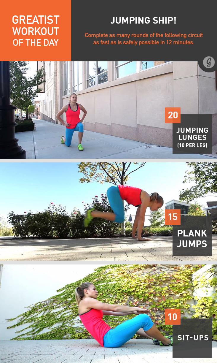 Greatist Workout of the Day: Wednesday, December 31st