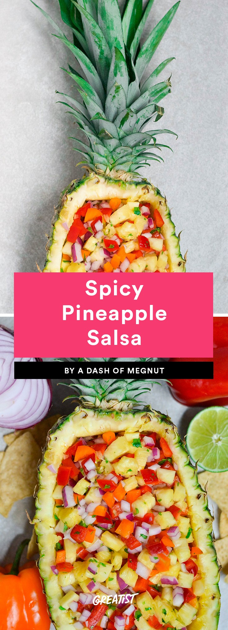 Spicy Pineapple Salsa
