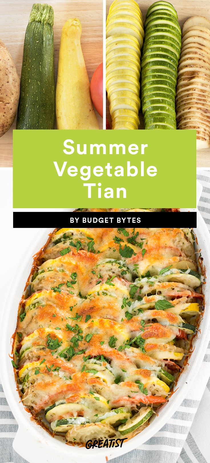 Summer Vegetable Tian Recipe