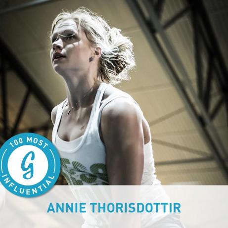 100. Annie Thorisdottir