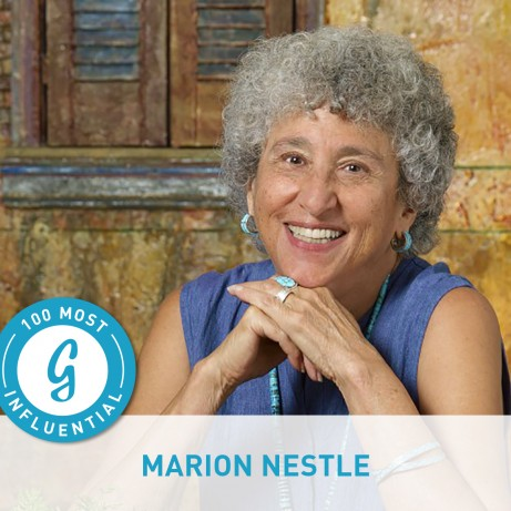 12. Marion Nestle, Ph.D.,M.P.H.