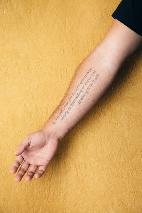 Tattoo Styles - Lettering