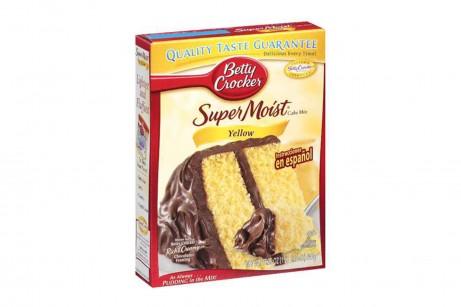 Betty Crocker Yellow Cake Mix