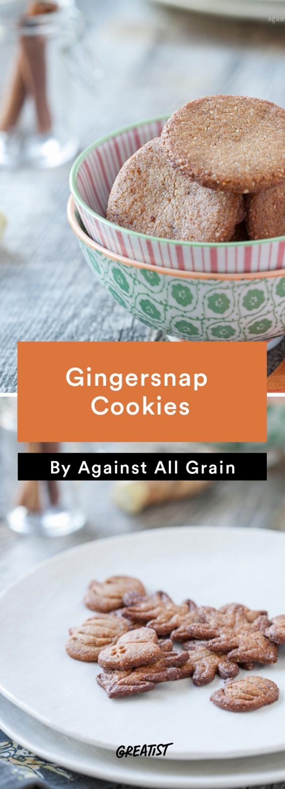 against all grain: Gingersnap