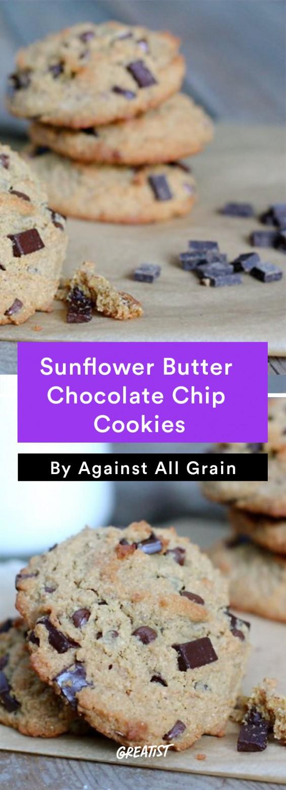 against all grain: sunbutter chocolate chip