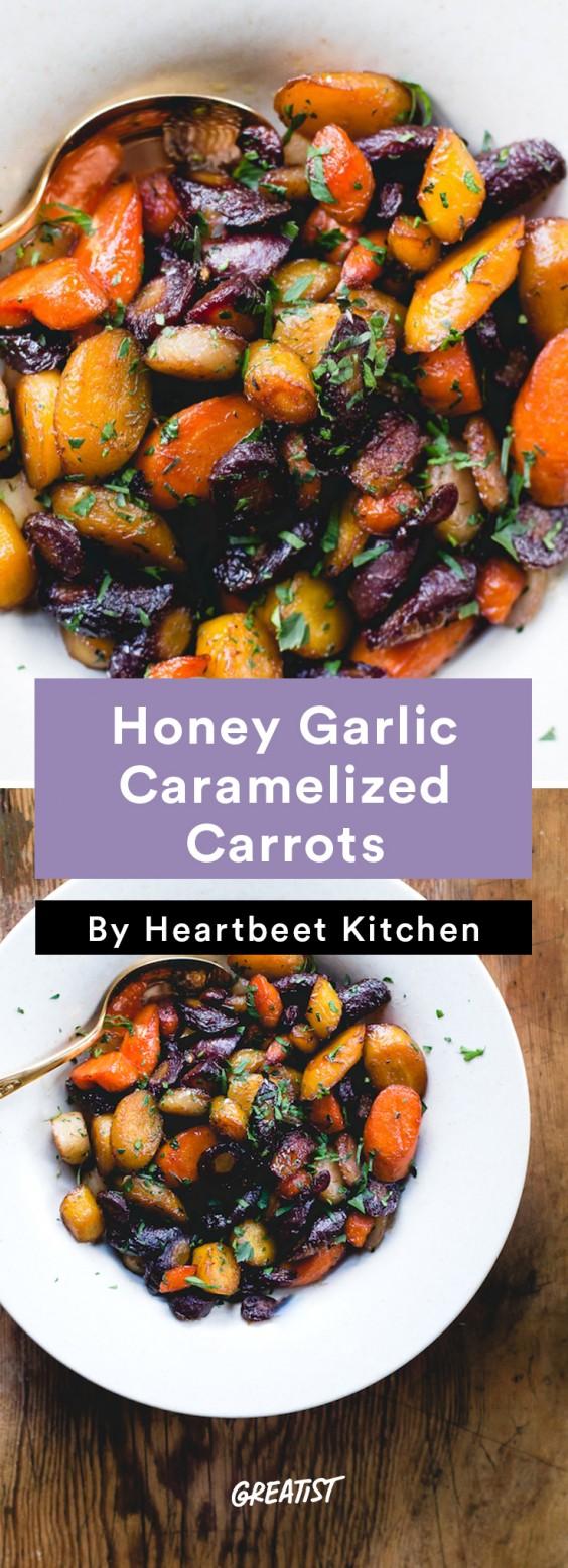 heartbeet kitchen: Caramelized Carrots