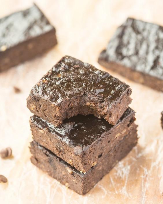 3-Ingredient Flourless Brownies