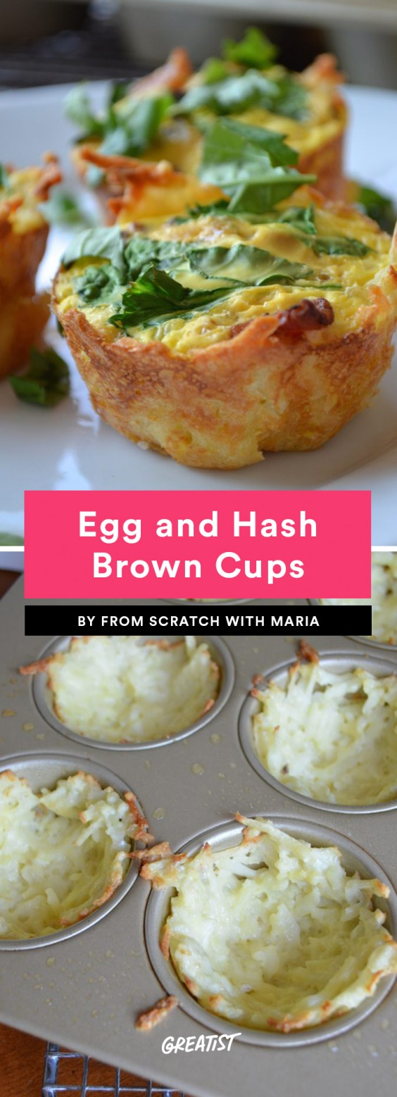 Egg and Hash Brown Cups