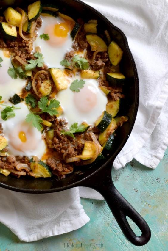 Zucchini Beef Skillet Recipe