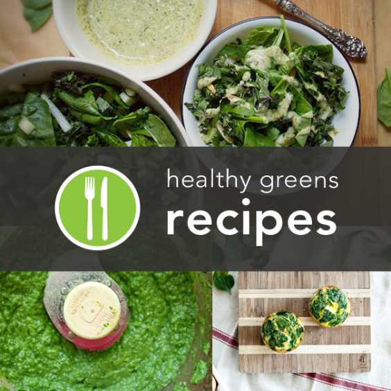 10 Healthy Greens Recipes from Around the Web