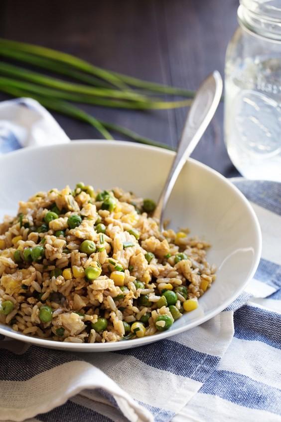 21. Veggie Fried Rice