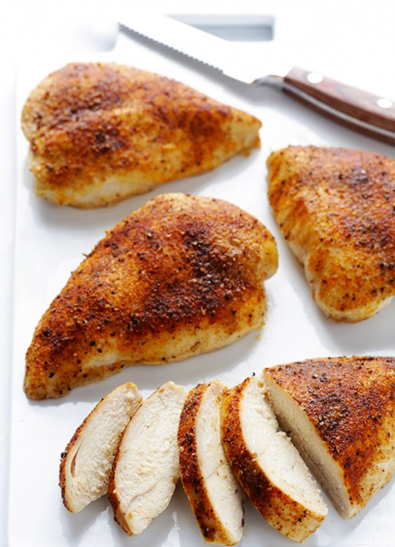 Thin cut boneless chicken breast takes only minutes to prepare and cook and provides a good source of protein with little fat. There are many different ways to prepare the chicken breast.
