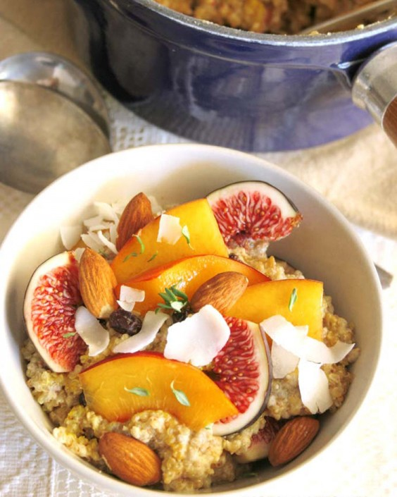 Top Pinned Breakfasts 2016: Quinoa and Chia Porridge