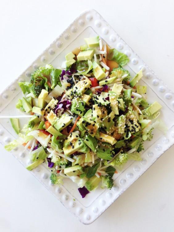 Detox Recipes: Rainbow Salad