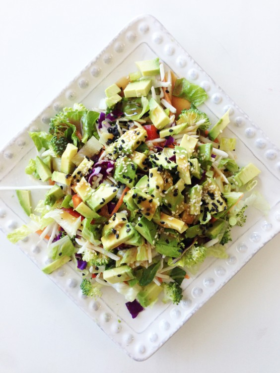Detox Recipes: Rainbow Salad
