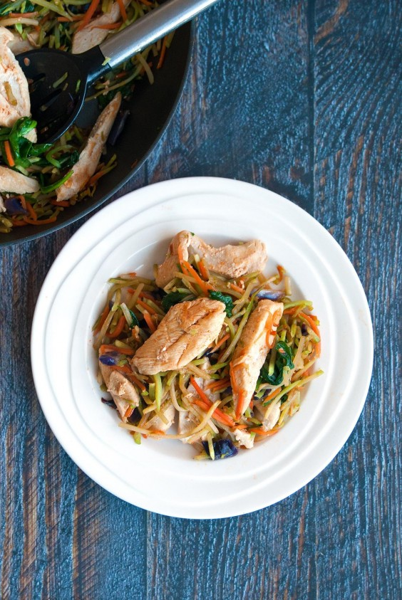 Healthy Dinner Recipes for Beginners: Sweet Sriracha Easy Chicken Stir-Fry by The Bewitchin' Kitchen