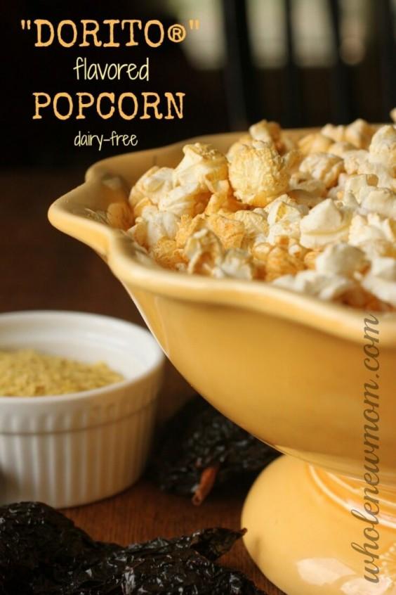 11. Dorito Popcorn