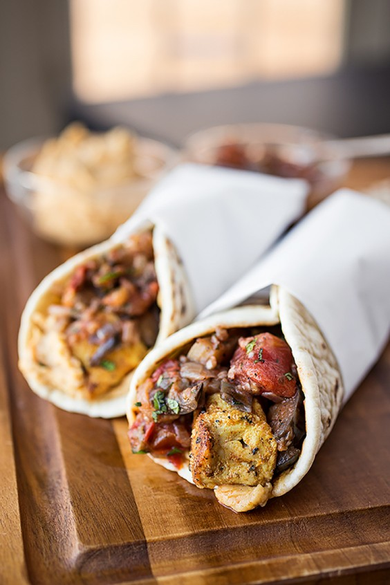 Lunch Ideas: Spiced Moroccan Chicken Wrap