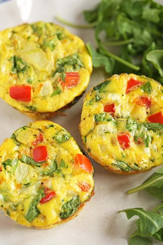 11. Healthy Veggie Egg Muffins
