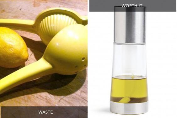 Lemon Squeezer vs Oil Spray