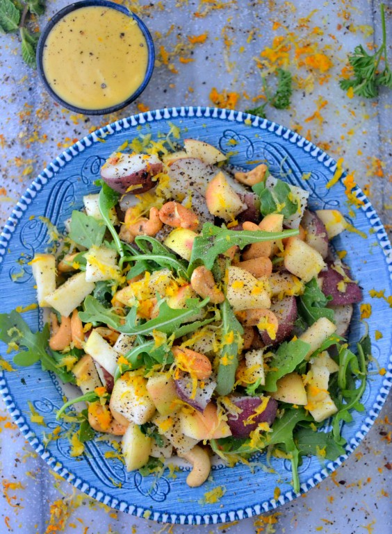 Apple Arugula Salad