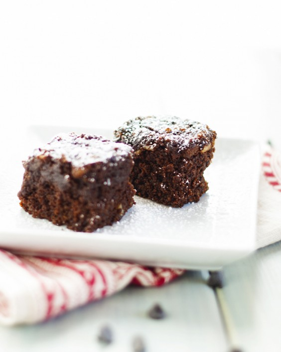 10. Double Chocolate Quinoa Brownies