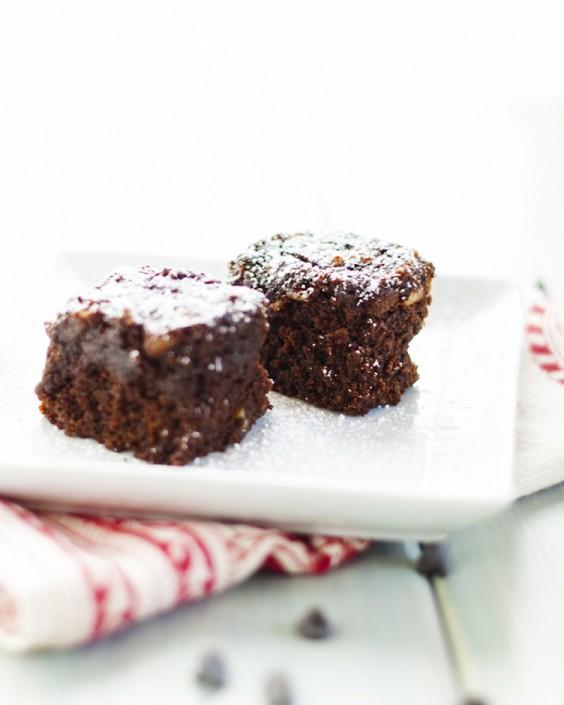 10. Double Chocolate Quinoa Brownies