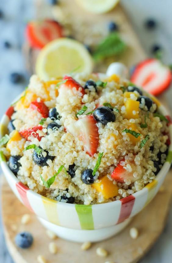 12. Quinoa Fruit Salad