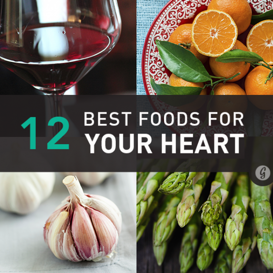 12 Best Foods for Your Heart Health