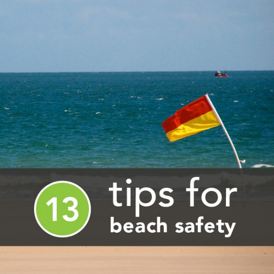 3 Tips For Beach Safety