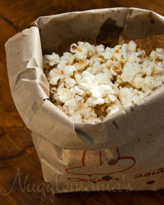 Microwave Popcorn DIY