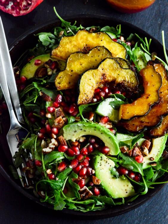 Detox Recipes: Autumn Arugula Salad