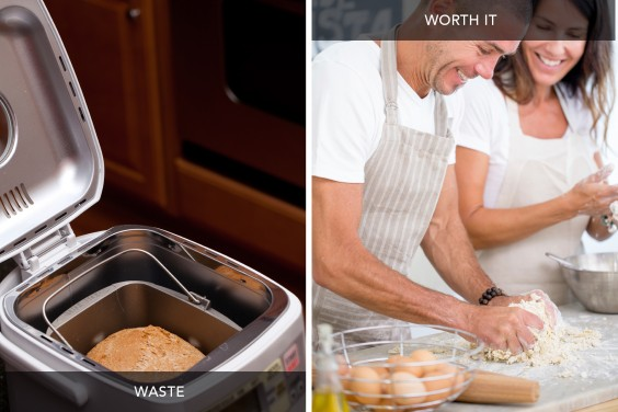 Bread Maker vs Cooking Classes