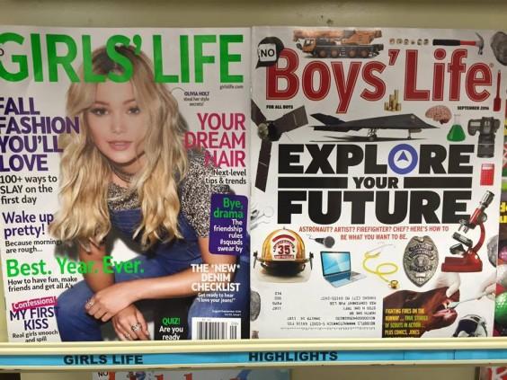 Girls Life vs. Boys Life
