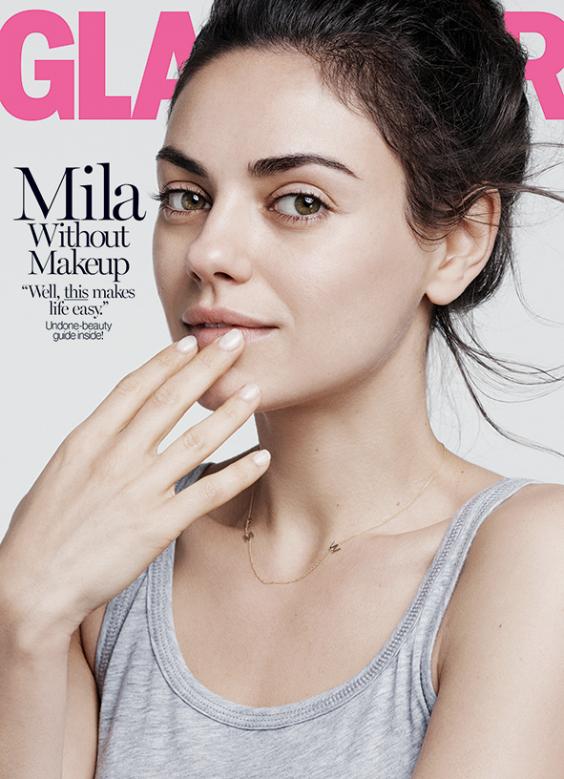 Mila Kunis Glamour Magazine