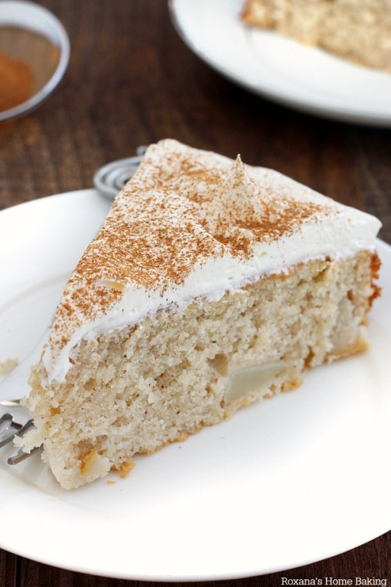 14. Cinnamon Pear Cake