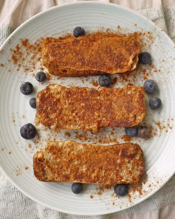 Baked Blueberry Coconut French Toast