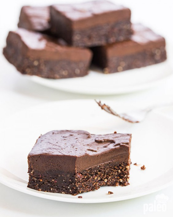 No-Bake Chocolate Brownies