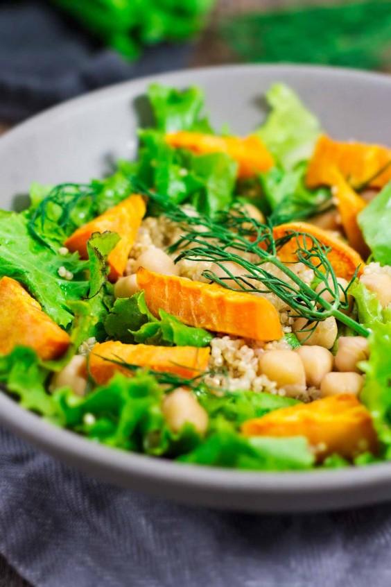 Detox Recipes: Sweet Potato Fennel Salad