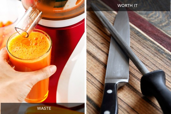 Juicer vs Knives