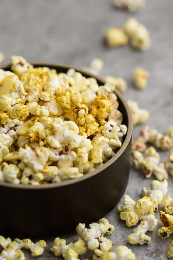 16. Coconut Curry Popcorn