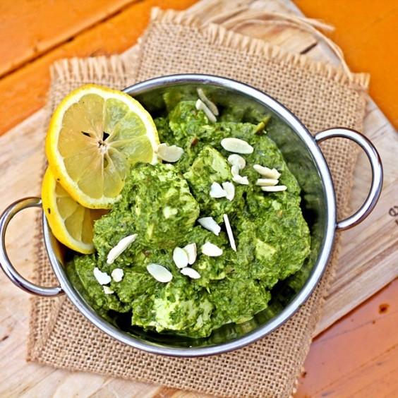 Greens Recipe: Saag Paneer