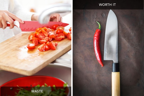 Cheap Knives vs Chef's Knife