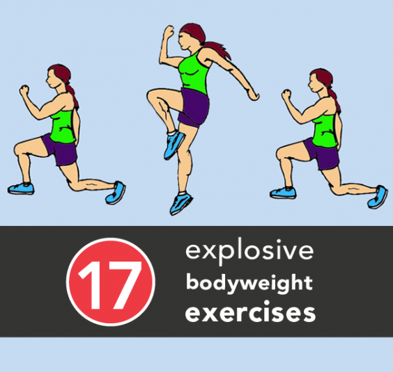 17 Powerful Bodyweight Exercises For Strength And Speed | Awaken