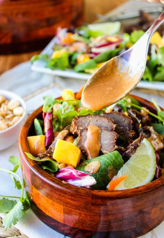 Crock-Pot Thai Steak Salad