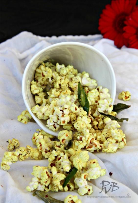 17. Masala Popcorn