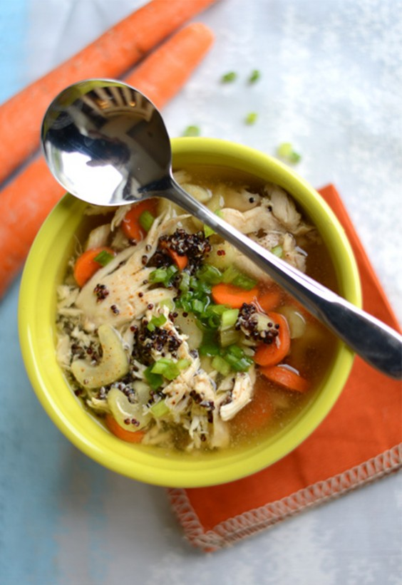 One Pot Meals: Chicken Quinoa Soup