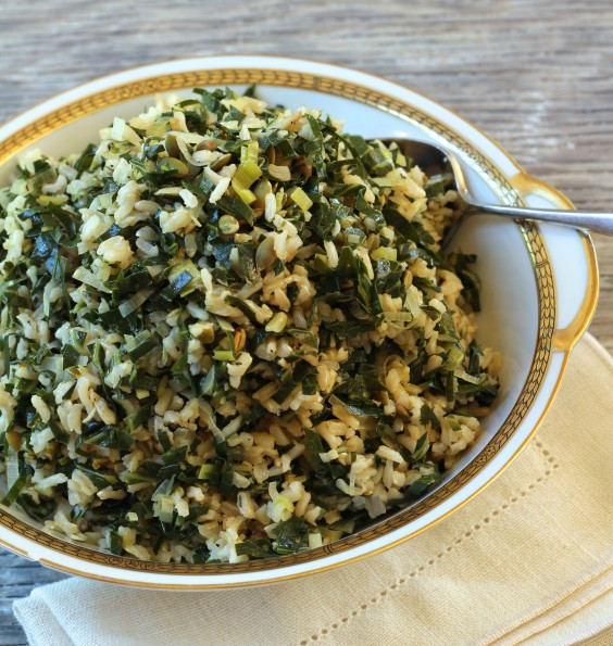 Greens Recipe: Dirty Rice With Collard Greens and Leeks